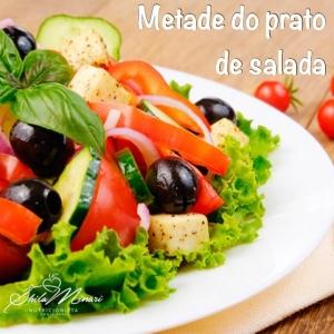 Metade do Prato de Salada