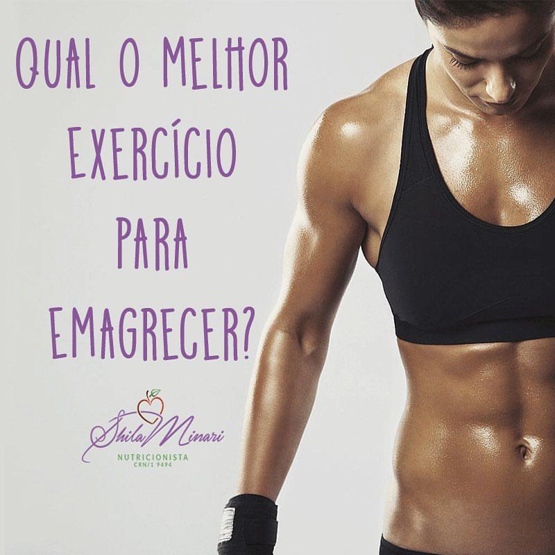 Qual o melhor exercício para emagrecer?