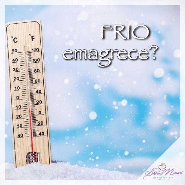 Frio emagrece?