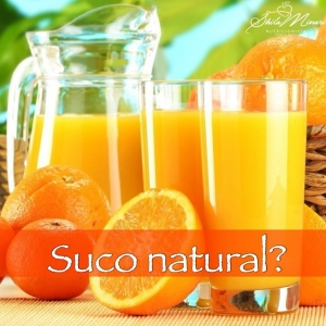 Suco natural?