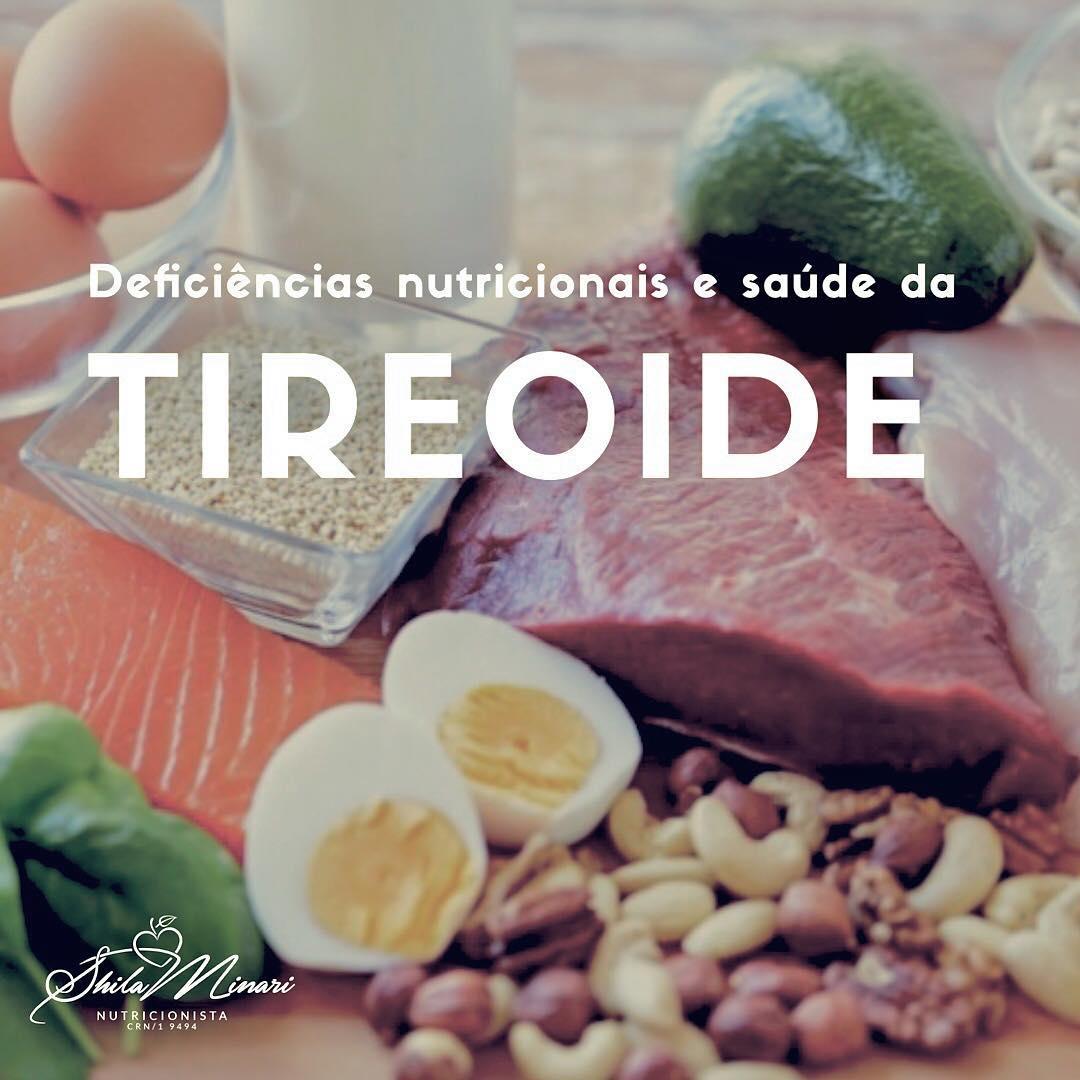 Deficiências Nutricionais e Saúde da Tireoide
